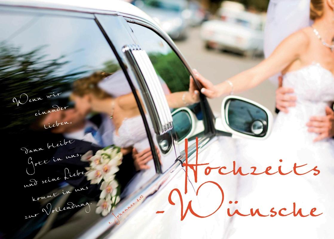 Hochzeits-Wünsche