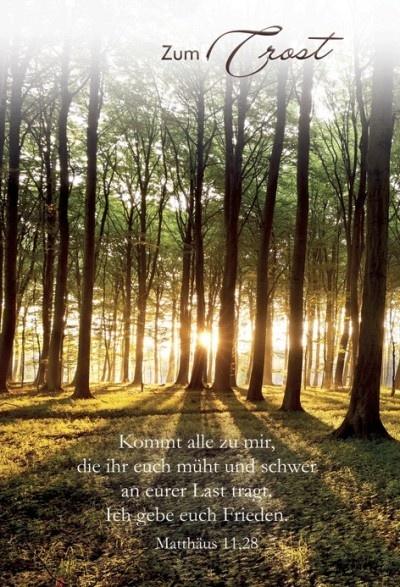 Briefumschlag Beschriften Bei Trauer : Faltkarte trauer matthäus
