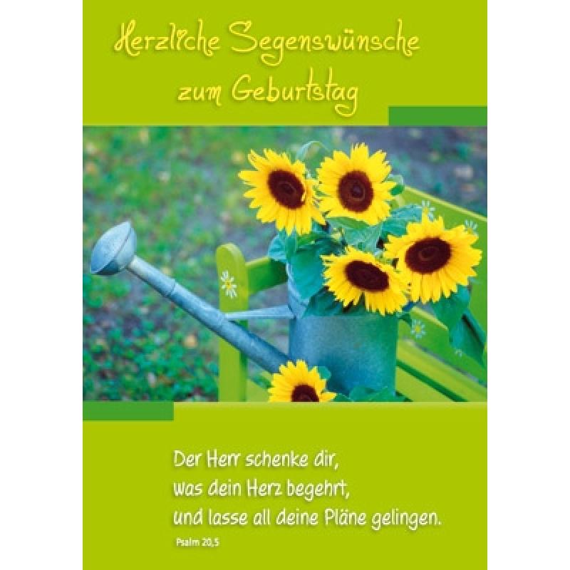 postkarten: herzliche segenswünsche zum geburtstag, 12 stüc