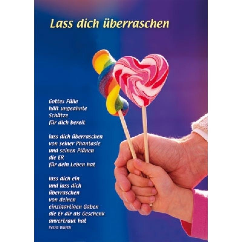 Lass Dich Гјberraschen Text