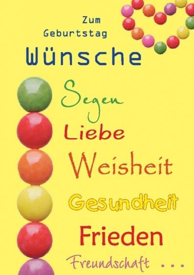 Поздравленье с днем рожденья на немецком